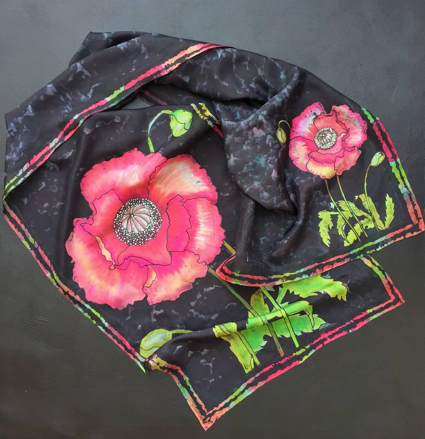 Pañuelo Flores de la Polinesia