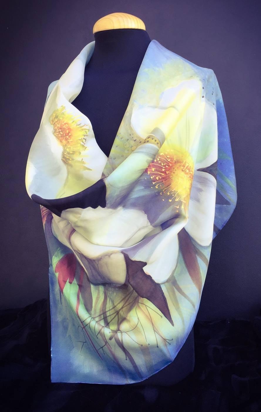 Panuelo Flores de la Provence-2