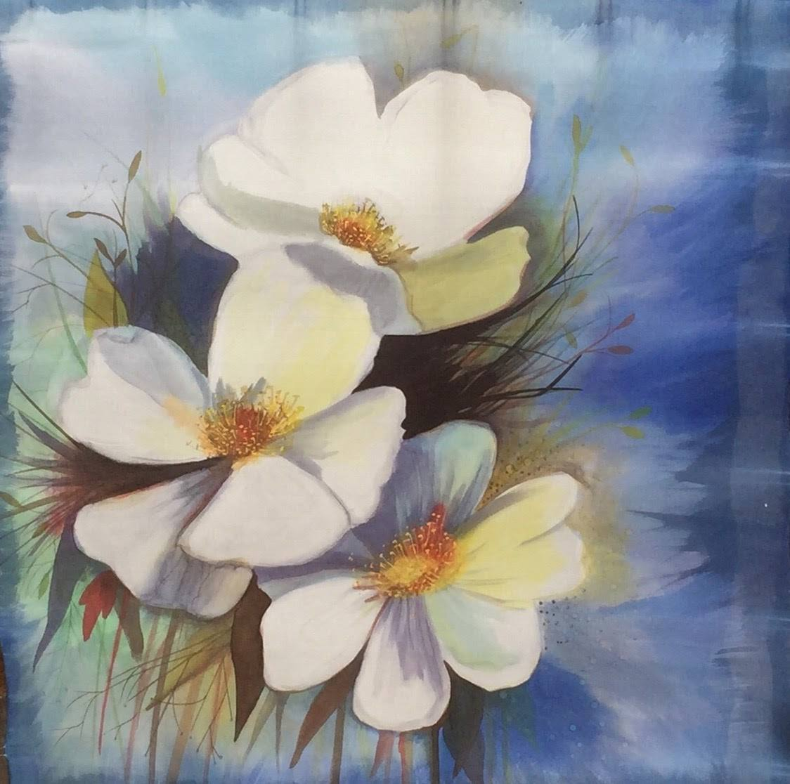 Panuelo Flores de la Provence-4
