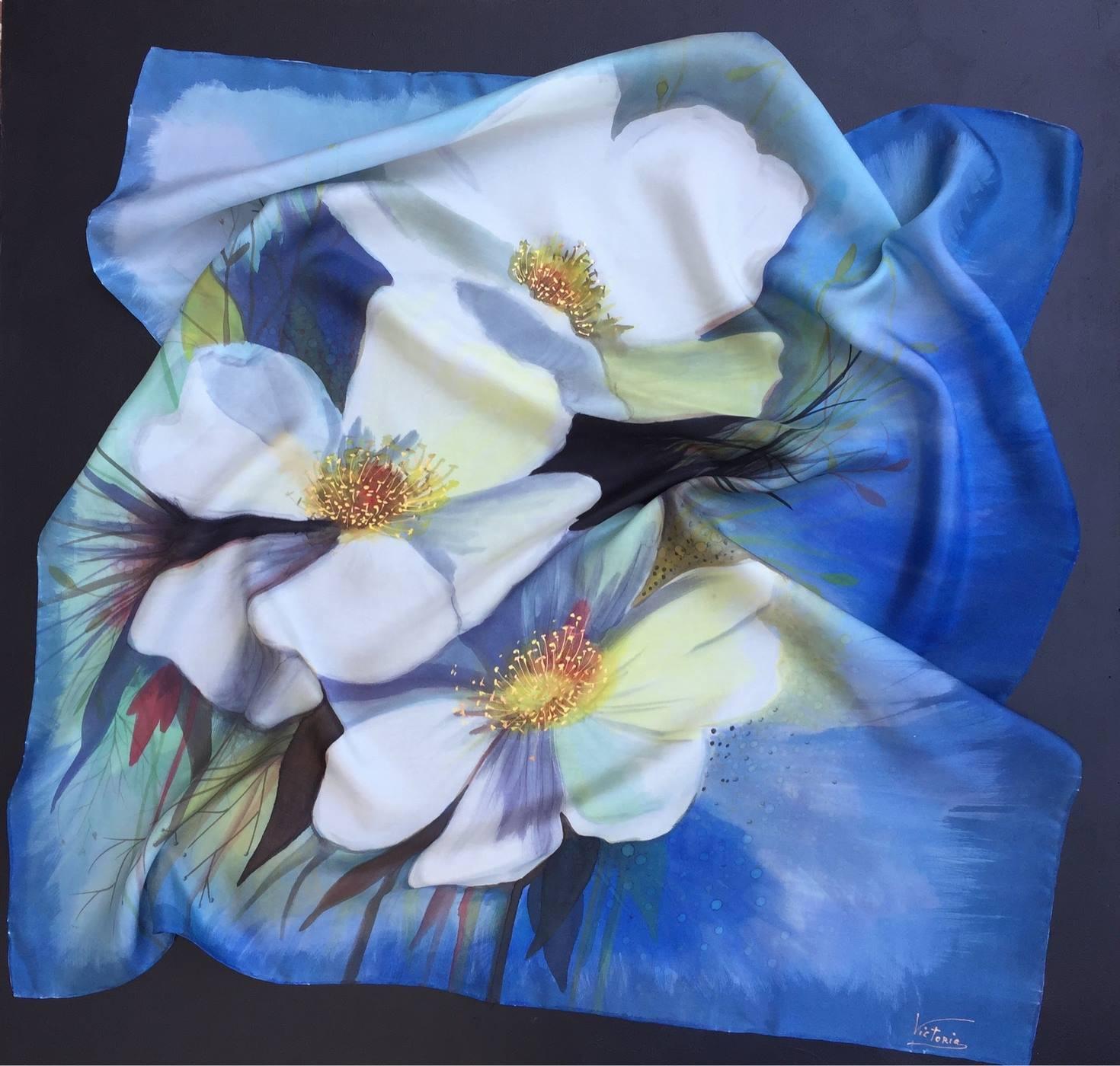 Panuelo Flores de la Provence